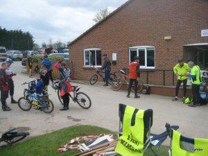 Terrington event finish