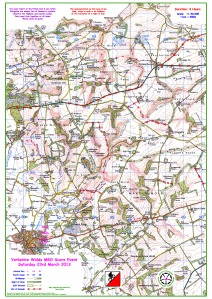 2013 Yorkshire Wolds - Event 5 October 2013 - Blank Map Preview