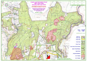 2013 Cropton and Newtondale Map without controls