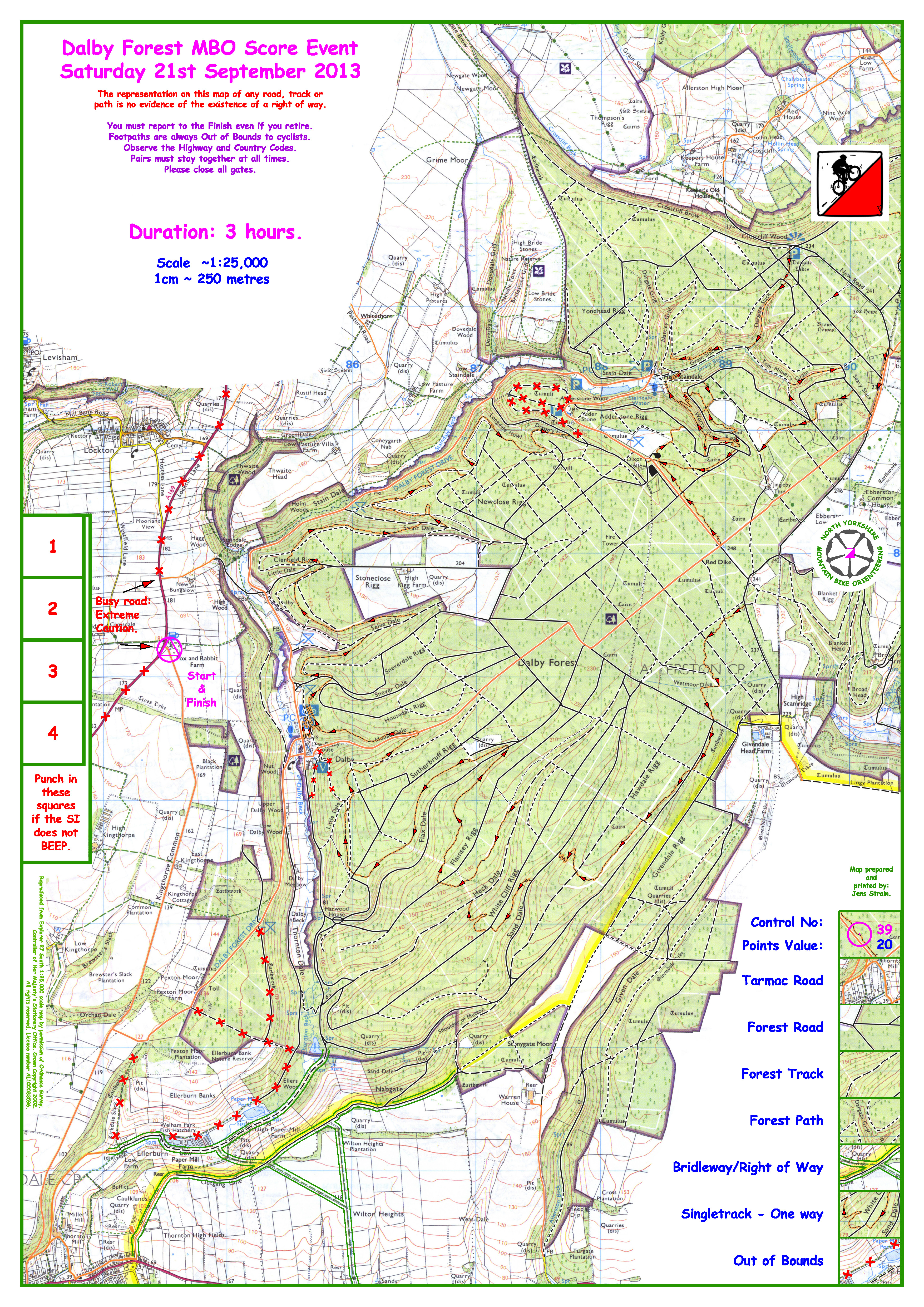 Dalby Forest Map Dalby Forest Map now available – enter online by Wednesday | nymbo  Dalby Forest Map