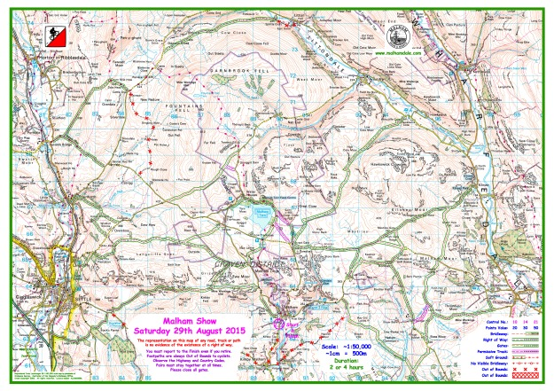 2015 Malham 50000 Working Drawing without Controls 14th August