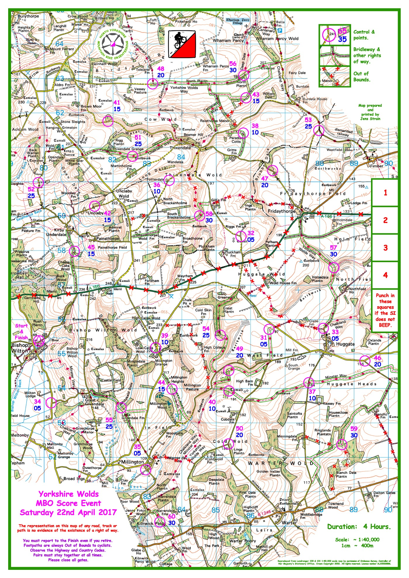 Today\'s Wolds results now available | nymbo : north yorkshire ...